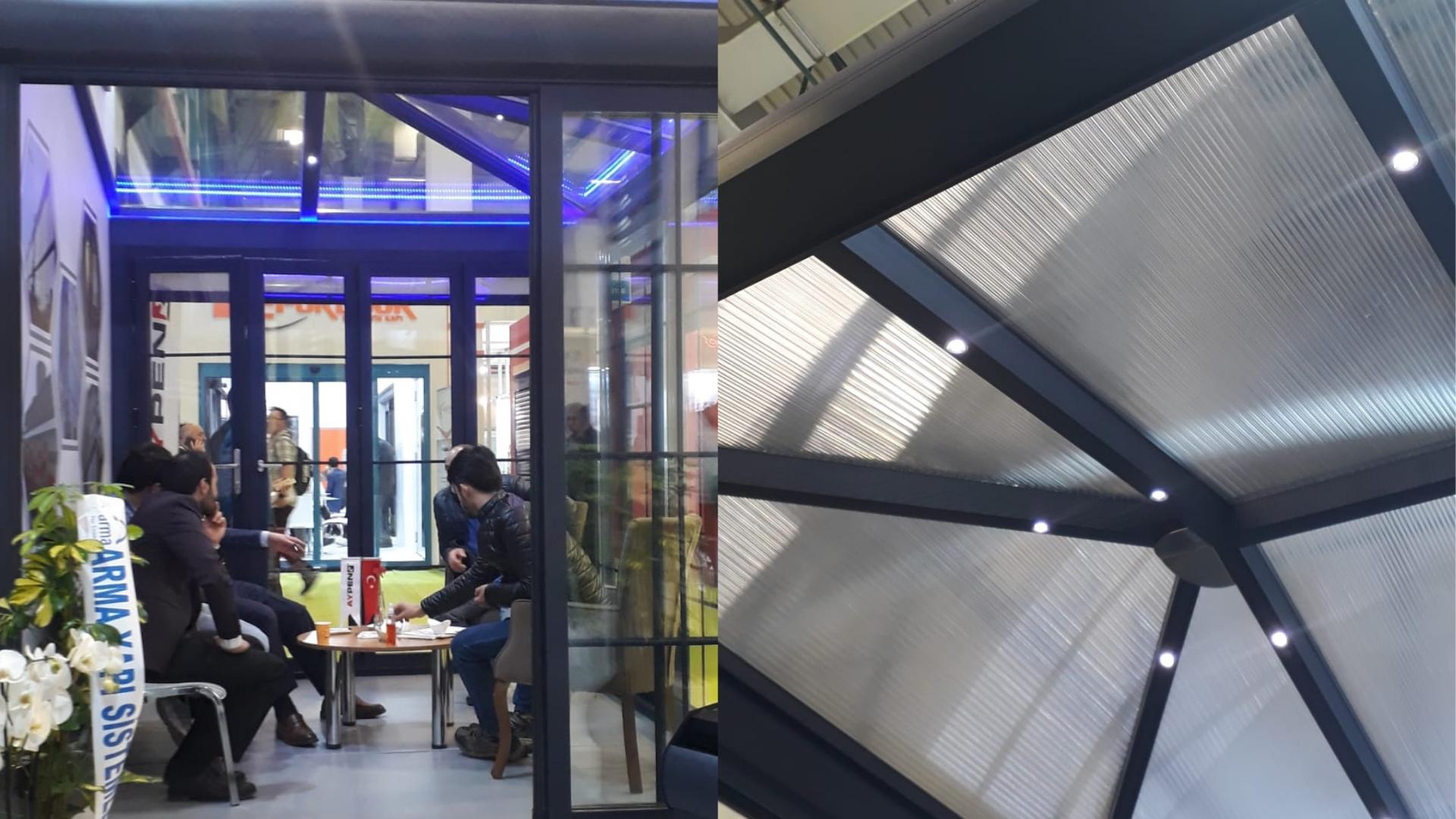 antrasitgri cam tavan sistemleri İzmir