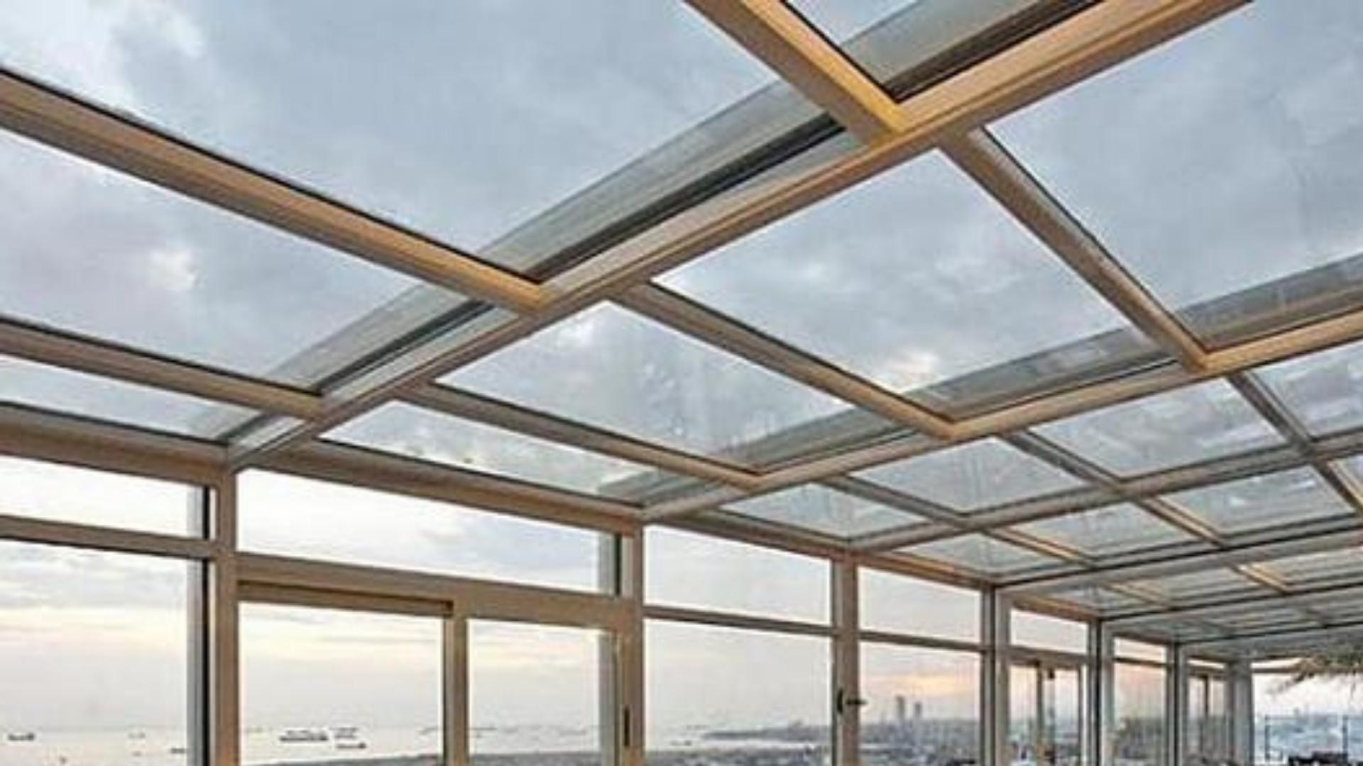 hareketli motorlu cam çatı İzmir